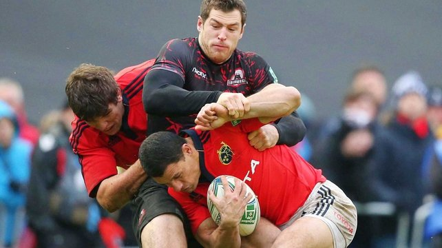 Munster will miss the the experience of both Donncha O'Callaghan and Doug Howlett on Saturday