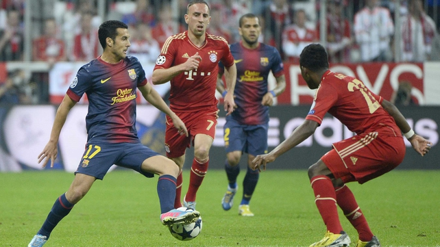 Bayern gave a superb performance against the Spanish aristocrats