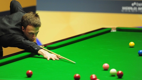 Trump remains on course for a quarter-final clash with Shaun Murphy