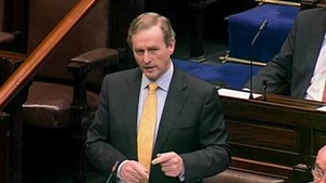 Taoiseach Enda Kenny was responding to questions from Independent TD John Halligan