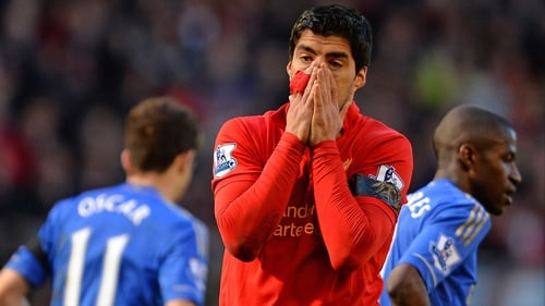 Luis Suarez as of now will miss the first six games of next season