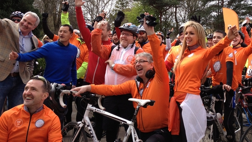 Cycle Against Suicide campaign was a big success