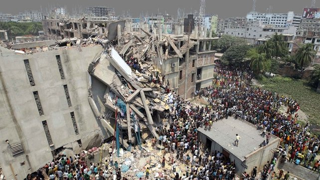 Primark was supplied by one of the factories operating at Rana Plaza