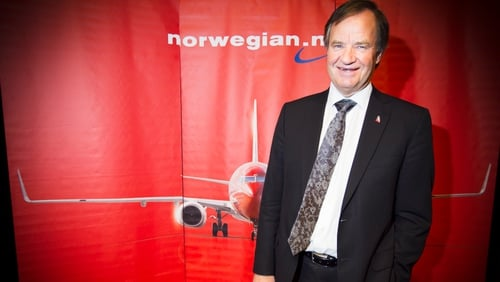 Norwegian CEO Bjoern Kjos said the airline is working on making a return to profitability