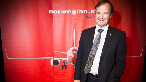 Bjorn Kjos is CEO of Norwegian Air Shuttle