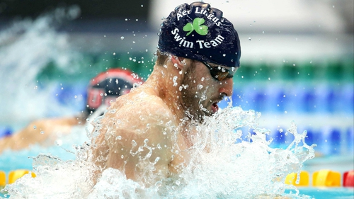 Barry Murphy will be hoping to qualify for this summer's World Championships in Barcelona when he takes part in the 100m breaststroke