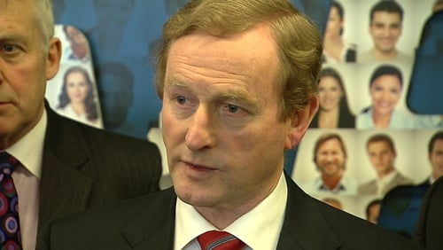 Taoiseach Enda Kenny said he did not agree with claims that legislation was not possible