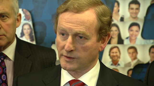 Enda Kenny is attending crucial EU budget talks in Brussels