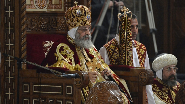 Pope Tawadros said Egypt's Christians feel ignored and neglected by Muslim Brotherhood-led authorities