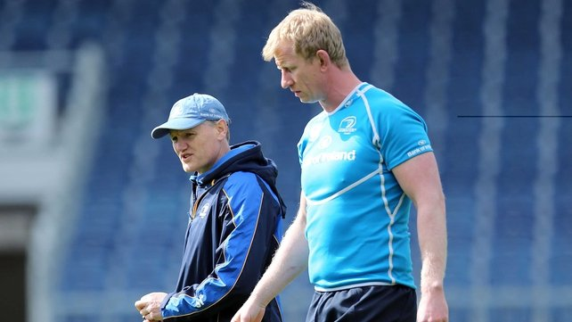 Leo Cullen will be part of the Leinster team to play Biarritz