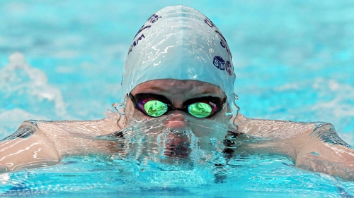 Fiona Doyle swam 1:07.81 in the semi-final