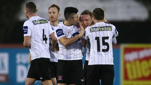 Dundalk are seeking to maintain their 100% away record