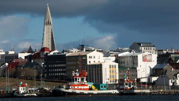 This picture shows Reykjavik, the Icelandic capital