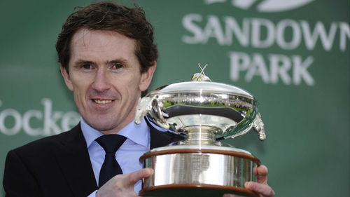 Tony McCoy is champion jockey for the 18th time