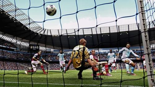 Aguero opened the scoring for Man City