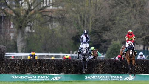 Quentin Collonges (l) en route to a narrow victory