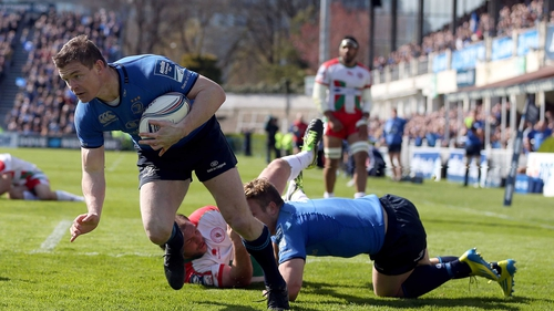 Brian O'Driscoll should be fit for Friday's Amlin Cup final