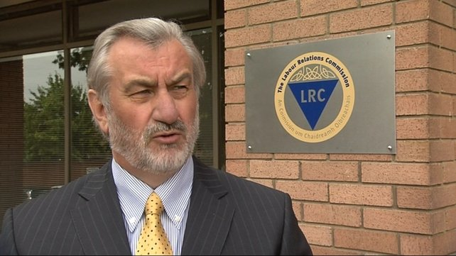 Kieran Mulvey has told unions that the Government is determined to secure the €300m savings for 2013 from payroll alone