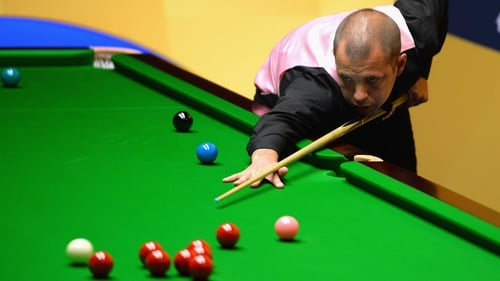 Barry Hawkins wept after reaching the World Championship quarter-finals for the first time