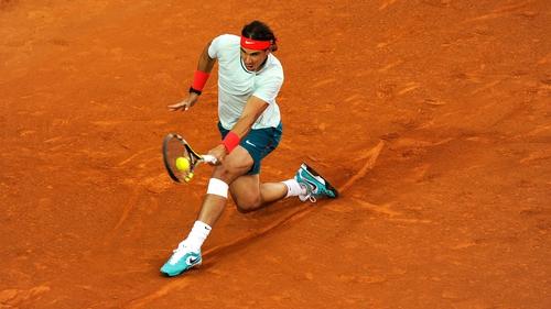 Rafael Nadal will face Nicolas Almagro in the Barcelona Open final on Sunday