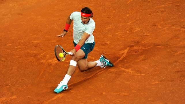 Rafael Nadal will face Nicolas Almagro in the Barcelona Open f