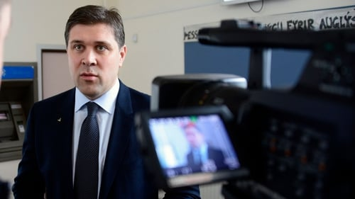 Iceland's Prime Minister Bjarni Benediktsson reflects on 'pleasant turning point in the economic rebuilding' of the country