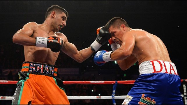 Amir Khan's has two wins in his last two fights