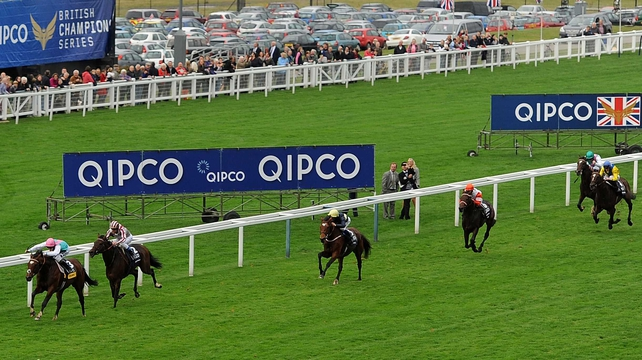 Cirrus Des Aigles followed home the great Frankel on his final start in last season's Champion Stakes