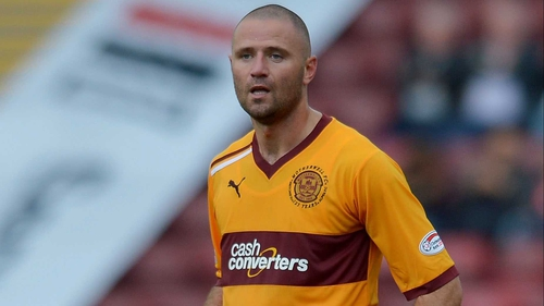 Michael Higdon was on the scoresheet as Motherwell guaranteed a Europe League spot