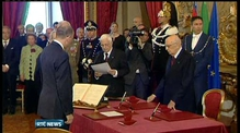 New government sworn in in Italy