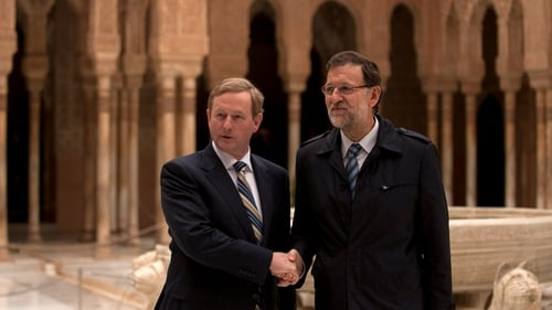 Mariano Rajoy gave Enda Kenny his support