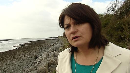 Áine Ní Chiaráin, Tráchtaire Polaitíochta.