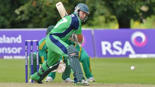 James Shannon scored 59 against South Africa A on his Ireland debut