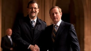 Taoiseach Enda Kenny met Spanish Prime Minister Mariano Rajoy in the Alhambra in Granada, Spain