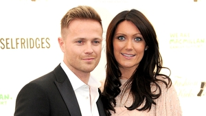 Nicky Byrne with his wife Georgina