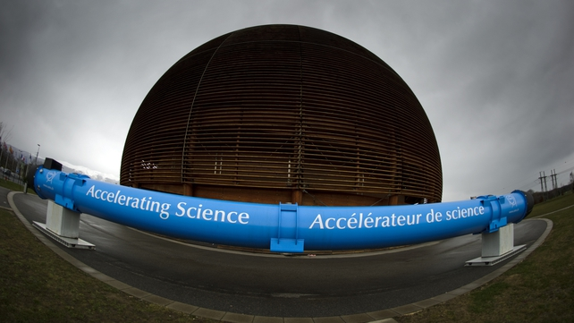 The Globe of Science and Innovation at CERN in Geneva