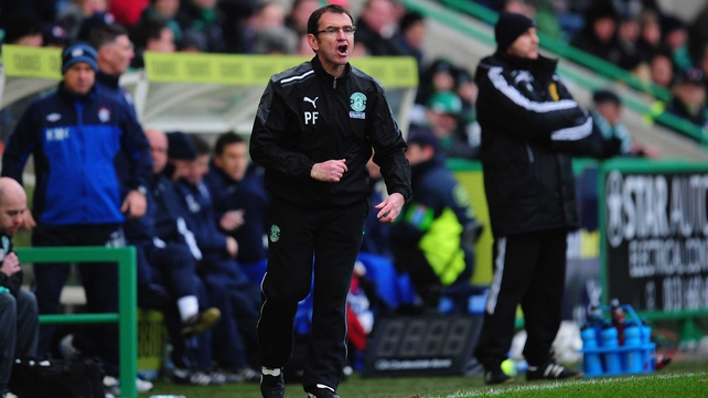 Pat Fenlon is the new manager at Shamrock Rovers
