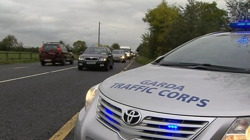 Gardaí are continuing to implement Operation Slow Down this weekend