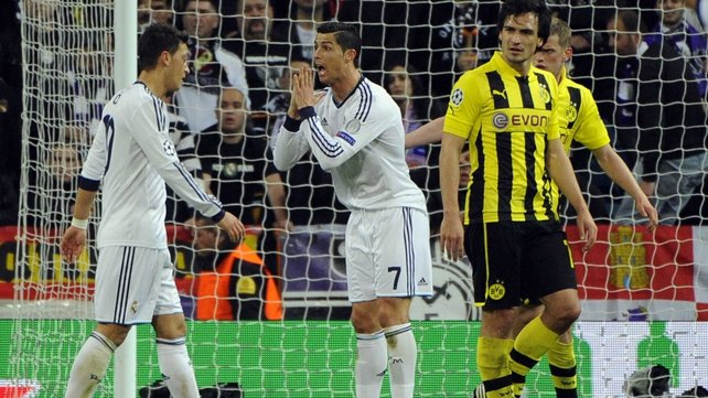 Cristiano Ronaldo is desperate to win something this season after Real fell short against Dortmund