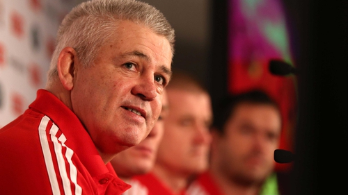 Warren Gatland is confident that Craig Joubert is the right man for the job