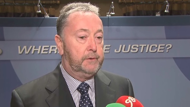 PJ Stone (above) said Martin Callinan was removed from office on a political whim