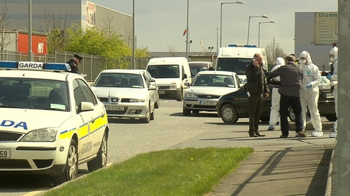 The area around the Greenogue Industrial Estate has been sealed off for a technical examination