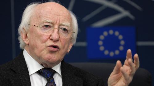 President Michael D Higgins warns that the EU must drop its 'hegemonic' economic model