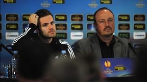 Juan Mata and Rafael Benitez have deflected talk over Jose Mourinho's possible return to Stamford Bridge
