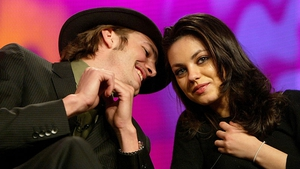 The celebrity couple will poke fun at their off-screen romance in Two and a Half Men