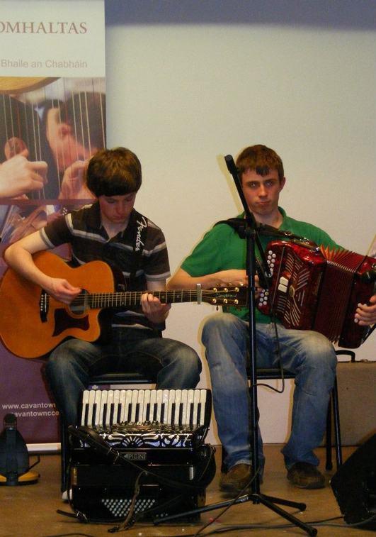 Séamus & Gareth Tierney & Fergus Bogue