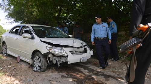 Chaudhry Zulfikar was shot dead as he left home in his car