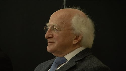President Michael D Higgins held four hours of discussions with the Council of State