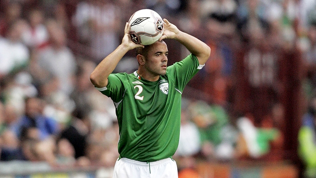 Stephen Carr won 44 cap for Ireland