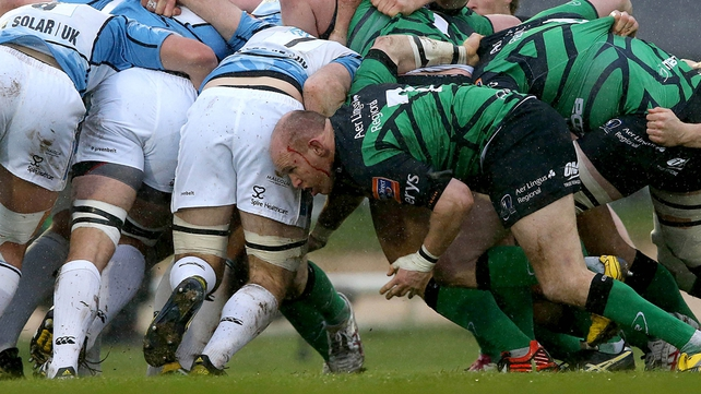 Connacht could not give J